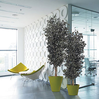 Unique trees for interior